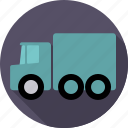 automotive, hauling, lorry, traffic, transport, truck, vehicle icon