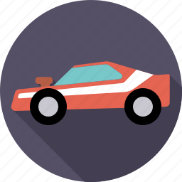 automotive, car, dragster, muscle car, traffic, transport, vehicle icon
