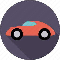 automobile, automotive, car, sports car, traffic, transport, vehicle icon