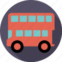 automotive, bus, london bus, public, traffic, transport, vehicle icon