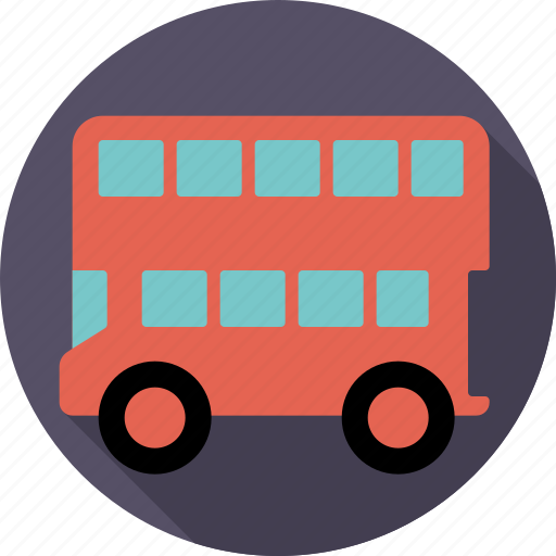 automotive, bus, london bus, public, traffic, transport, vehicle icon