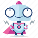 robot, emoji, sticker, emoticon, hero