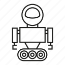 android, artificial intelligence, cyborg, humanoid, model, robot, toy icon