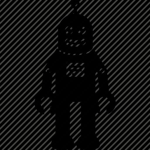 happy, robot icon