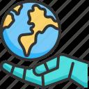 concept, cyborg, ecology, environment, future, global, robot icon