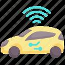 autopilot, car, driverless, future, technology, vehicle, wireless