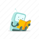 book, ebook, education, knowledge, robot, science, study