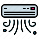 air, conditioner, heating, machine, refreshing icon