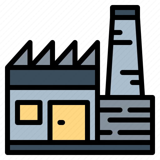 buildings, factory, industrial, industry icon