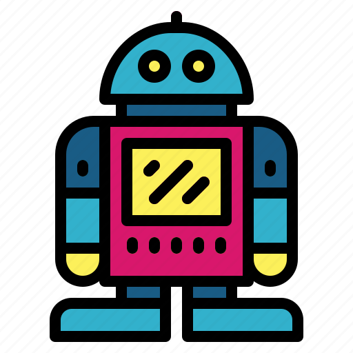 Metal, robot, technology, toy icon - Download on Iconfinder