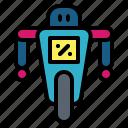 machine, miscellaneous, robot, technological, wheel