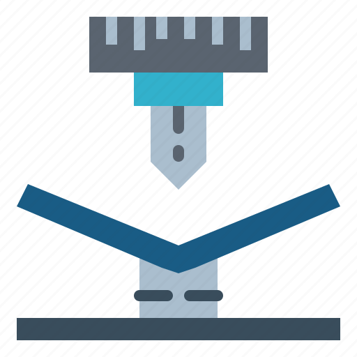 bending, factory, industrial, industry icon
