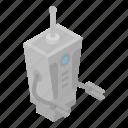 cartoon, family, isometric, logo, retro, robot, transformer