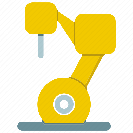 auto, automate, industrial, machine, production, robot, robotic hand icon