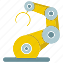 automate, control, industrial, machine, manufacture, robot, robotic hand icon