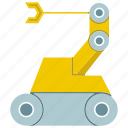 auto, automate, machine, manufacture, rescue robot, robot, robotic hand icon