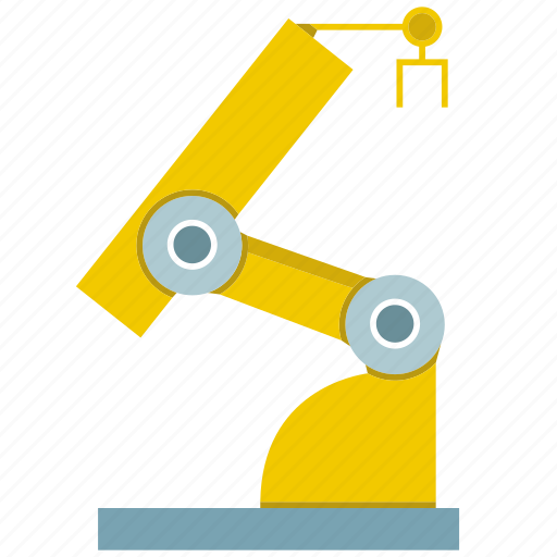 automate, industry, machine, manufacture, production, robot, robotic hand icon
