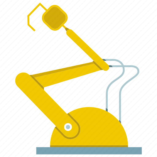 automate, control, industry, machine, manufacture, robot, robotic hand icon