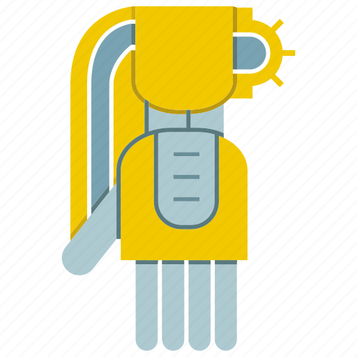 automate, machine, manufacture, mechanical, robot, robotic arm, robotic hand icon