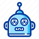 electronic, engineering, machine, robot, robot toy, robotic, technology icon