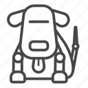 dog, futuristic, machine, pet, robot, robotic icon