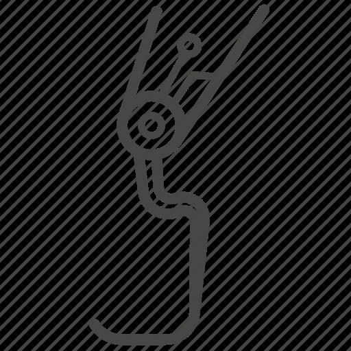 Artificial, automaton, leg, machine, robot, robotic icon - Download on Iconfinder