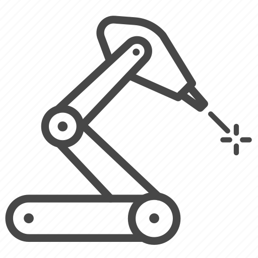 Auto, factory, machine, manufactory, robot, robotic icon - Download on Iconfinder