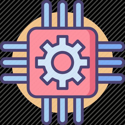 Ai, cpu, microchip, processor icon - Download on Iconfinder