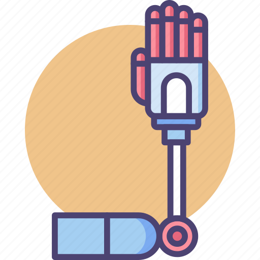 Arm, hand, robotic icon - Download on Iconfinder
