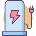 battery, battery pack, charge, charger, charging, powerbank icon