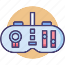 control, control panel, controller, controls, game controller, gamepad icon