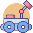 fighter, fighter robot, robot, robot fighter, rover icon