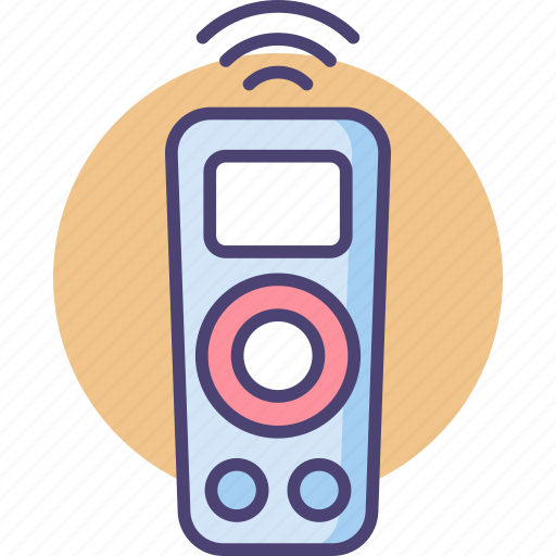 control, remote, remote control icon