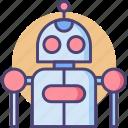 bot, robot, robotic icon