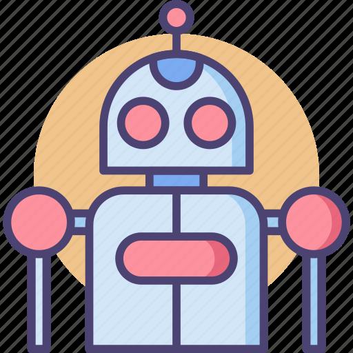 Bot, robot, robotic icon - Download on Iconfinder