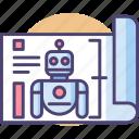 robot blueprint, robot plan, robotic plan, robotic project
