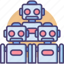 bots, robot, robot army, robot soldier, robotics, robots