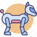 dog, robot dog, robotic, robotics icon