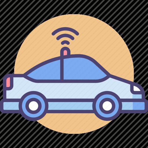 autonomous, car, driving, self, self driving car, vehicle icon