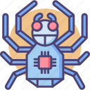 robotics, spider, spiderbot icon