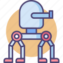 robot, robotic, robotics, turret, walking turret, weapon icon