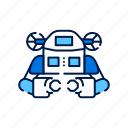 aquanaut, innovation, robot, robotics, submarine, technology, underwater icon