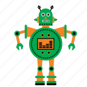 android, machine, robot, robots, technology icon
