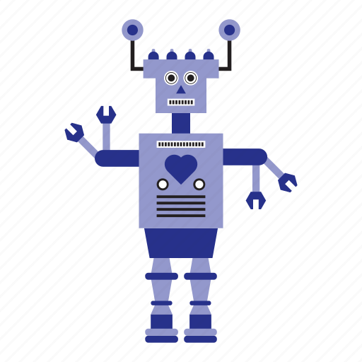 humanoid, machine, robot, toy icon