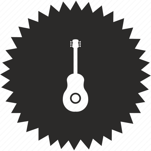 acoustic, guitar, instrument, music, sound icon