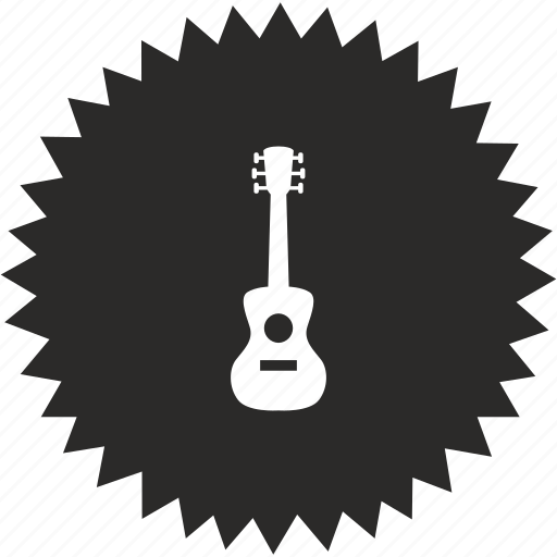 acoustic, guitar, instrument, music, play, rock, sound icon