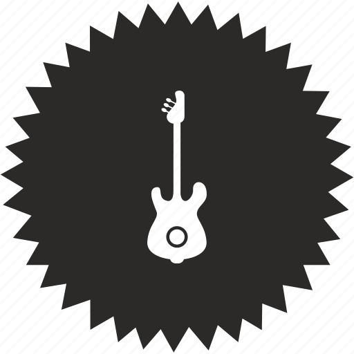 electro, guitar, music, play, sound icon