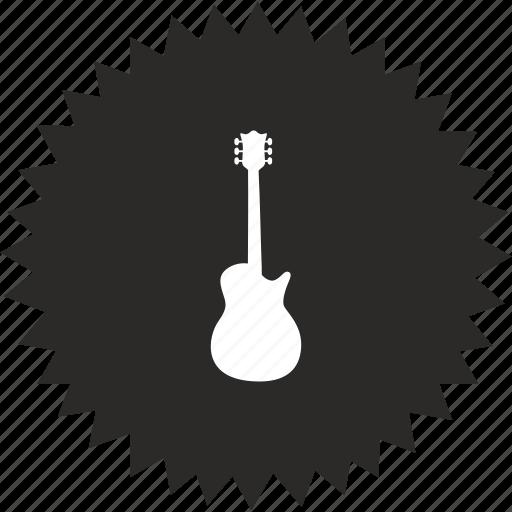 electric, fuzz, guitar, instrument, music, rock, sound icon
