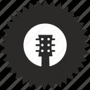 guitar, acoustic, fretboard, music, rock