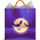 bag, halloween icon